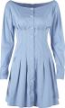 Clothes/footwear details Court retro style high waist slim single (Dresses)