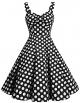Clothes/footwear details DRESSTELLS 1950s Retro Audrey Swing Pinup Rockabilly Dress Pleated Vintage Dress (Dresses)