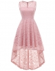 Clothes/footwear details DRESSTELLS Women's Cocktail V-Neck Dress Floral Lace Hi-Lo Formal Swing Party Dress (Dresses)
