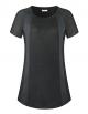 Clothes/footwear details Dimildm Women's Activewear Short Sleeve Yoga Running Workout Gym T Shirt Crew Neck Color Block Sport Tops (Shirts)
