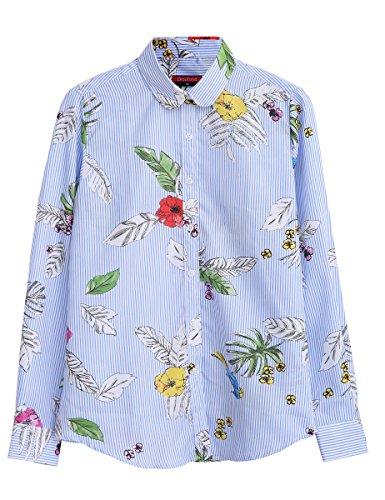 e4ea44defb3421 Dioufond Shirts - Dioufond Womens Flamingo Leaf - $8.99 - trendMe.net