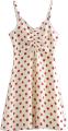 Clothes/footwear details Drawstring strap stretch red wave strap (Dresses)