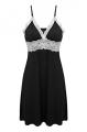 Clothes/footwear details Ekouaer Sleepwear Womens Chemise Nightgown Full Slip Lace Lounge Dress (Underwear)