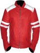 Clothes/footwear details FIGHT-CLUB RED GENUINE COWHIDE LEATHER JACKET (Jacket - coats)