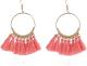 Clothes/footwear details Fashion Bohemian Large Circle Fan-shaped Tassel Earrings Nhpf145115 (Earrings)
