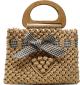 Clothes/footwear details Fashion Woven Bow Portable Bag Nhtg332345 (Hand bag)