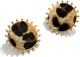Clothes/footwear details Fashionable Leopard Print Earrings Nhjq284947 (Earrings)