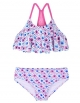 Clothes/footwear details Firpearl Girl's Two Piece Swimsuit Floral Bikini Set Flounce Bathing Suit (Swimsuit)