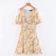 Clothes/footwear details Floral Print Vintage Dress Palace Puff S (Dresses)