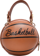 Clothes/footwear details Funny Small Round Women's New Messenger Pink Chain Basketball Bag Nhjz242749 (Hand bag)
