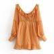 Clothes/footwear details Ginger polka dot chiffon ruffled little (Dresses)