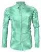 Clothes/footwear details GloryStar Men's German Bavarian Oktoberfest Shirt Button Down Checkered Shirt for Lederhosen (Accessories)