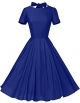 Clothes/footwear details GownTown Womens 1950s Vintage Retro Party Swing Dress Rockabillty Stretchy Dress (Dresses)