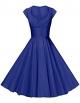 Clothes/footwear details GownTown Womens Dresses Party Dresses 1950s Vintage Dresses Swing Stretchy Dresses (Dresses)