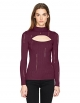 Clothes/footwear details Guess Women's Long Sleeve Sonia Placed Pointelle Sweater (Shirts)