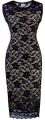 Clothes/footwear details HOMEYEE Women's Floral Lace Cocktail Party Sheath Dress S09 (Accessories)