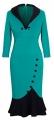 Clothes/footwear details HOMEYEE Women's V Neck Ball Fishtail Pencil Dress UB27 (Dresses)