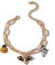 Clothes/footwear details Halloween Pumpkin Earrings Ghost Demon Earrings Wholesale Nhgy255886 (Necklaces)