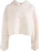Clothes/footwear details Hooded Turtleneck Sweater Female Furry L (Jacket - coats)