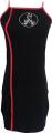 Clothes/footwear details Irregular split embroidery harness dress (Dresses)