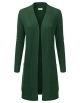 Clothes/footwear details JJ Perfection Womens Light Weight Long Sleeve Open Front Long Cardigan (Shirts)
