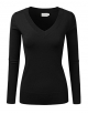 Clothes/footwear details JJ Perfection Women's Simple V-Neck Pullover Soft Knit Sweater (Shirts)