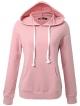 Clothes/footwear details JayJay Women Basic Lightweight Pullover Hoodie Sweatshirt with Kangaroo Pocket (Shirts)