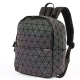 Clothes/footwear details KAISIBO Geometric Backpack Holographic Reflective Backpacks (Luminous E) (Hand bag)