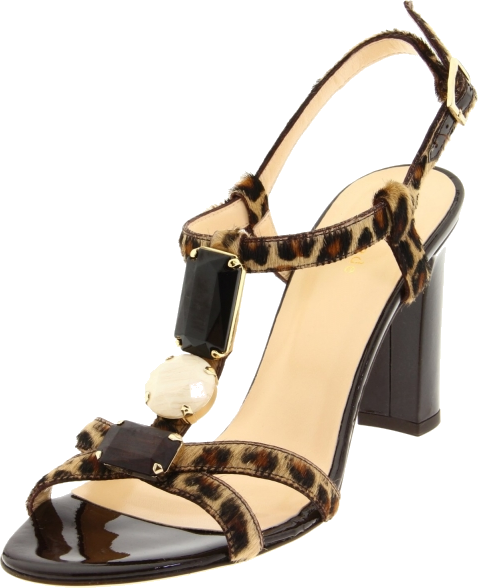 Aquazzura Seduction Pvc And Leopard Print Calf Hair Sandals Women S High Heel 2o7dorr0