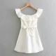 Clothes/footwear details Laminated decorative dress (Dresses)