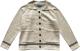 Clothes/footwear details Lapel stitching striped pocket loose k (Jacket - coats)