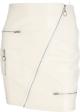Clothes/footwear details Leather zipper bag hip skirt (Skirts)