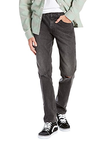 Pants Slim Men's 8 Jeans Grey Destruction Levi's Straight Line Mid SUzVMp