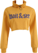Clothes/footwear details Loose stand collar long-sleeved street j (Pullovers)
