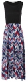 Clothes/footwear details LuckyMore Women Boho Chevron Striped Print Summer Sleeveless Tank Long Maxi Party Dress (Dresses)