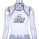 Clothes/footwear details Lumbar sleeveless vest sling (Tanks)