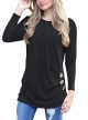 Clothes/footwear details MOLERANI Women's Casual Long Sleeve Round Neck Loose Tunic T Shirt Blouse Tops (Shirts)