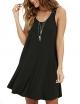 Clothes/footwear details MOLERANI Women's Casual Swing Simple T-Shirt Loose Dress (Dresses)