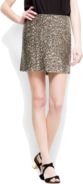 8818099f1f Mango Skirts - Mango Women' Sequin Mini - $79.99 - trendMe.net