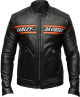 Clothes/footwear details Mens Motorcycle Bikers Black Leather Jacket Outfit (Jacket - coats)