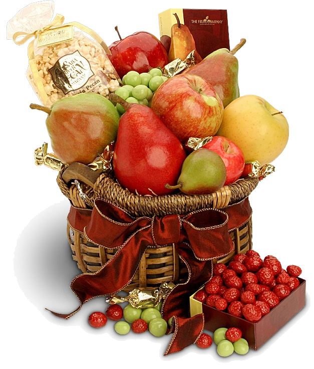 Открытка про фрукты, про выходной день