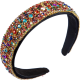 Clothes/footwear details New Fashion Baroque Style Color Drill Headband Wide Side Cheap Headband (Other)