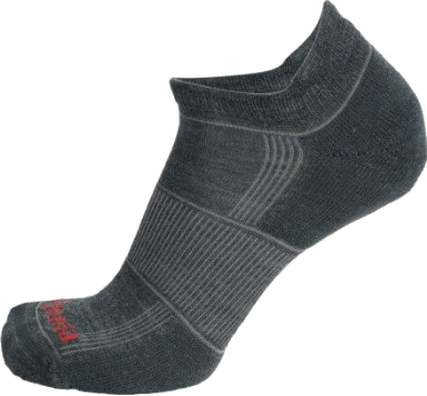 New Patagonia Running Organic Cotton Socks Mens Lightweight Everyday Anklet Gray