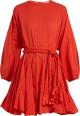 Clothes/footwear details RHODE RESORT Ella belted cotton dress (Uncategorized)