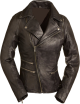 Clothes/footwear details RIDING WOMENS BLACK LEATHER MOTORCYCLE JACKET (Jacket - coats)