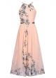 Clothes/footwear details Ruiyige Women's Sleeveless Halter Neck Vintage Floral Print Maxi Dress (Dresses)