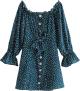 Clothes/footwear details Sexy Word Dress Shoulder Dress (Dresses)
