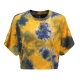 Clothes/footwear details Short cropped tie-dye T-shirt short casu (Shirts)