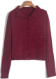 Clothes/footwear details Small lapel sweater cardigan single-brea (Cardigan)