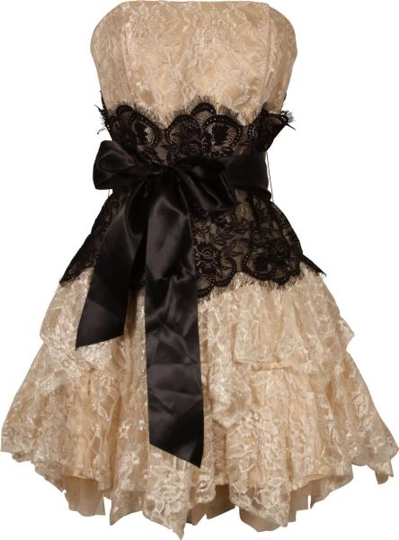 d51c0a6c445 PacificPlex Dresses - Strapless Bustier Contrast -  96.99 - trendMe.net